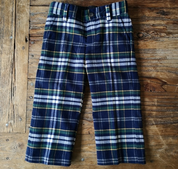 80f4a903a Janie and Jack Bottoms | Boys Plaid Pants | Poshmark